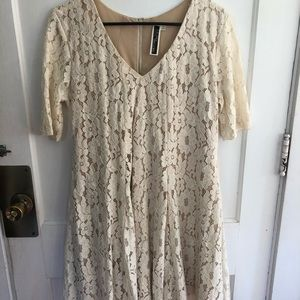 Julian Taylor lace dress